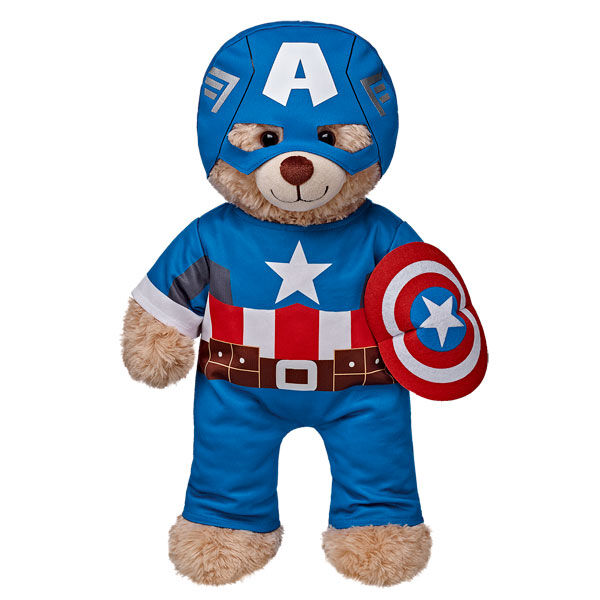 Captain America Costume 3 pc., , hi-res