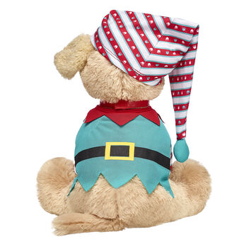 Your four-legged furry friend will look super jolly in this adorable elf costume! This two-piece set includes a festive elf shirt and hat. Have yoursELF a happy Christmas with your Promise Pets furry friend by your side!