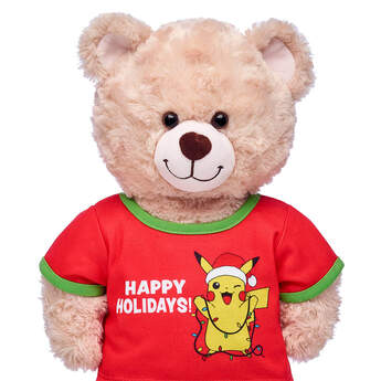 Pokémon Happy Holidays T-Shirt - Build-A-Bear Workshop®