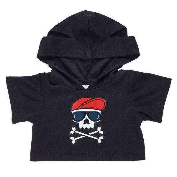 Black Skull Hoodie, , hi-res