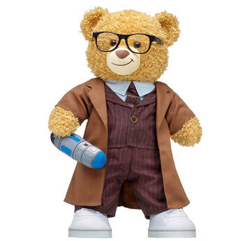 Online Exclusive Doctor Who Bear Tenth Doctor Gift Set, , hi-res