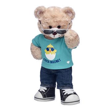 Online Exclusive Happy Hugs Teddy Chick Magnet Gift Set, , hi-res