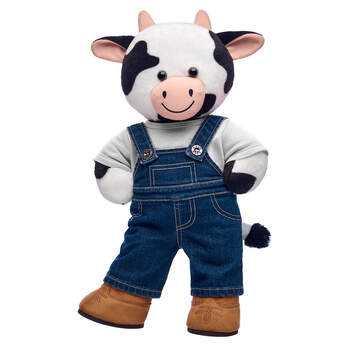 Cuddly Cow Farmer Gift Set, , hi-res