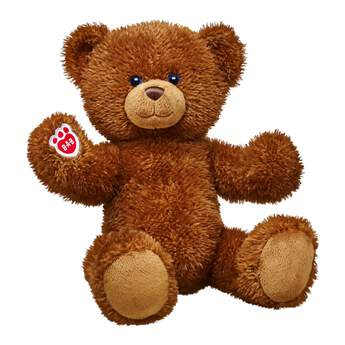 Give bear hugs! Traditional Cocoa Bear has a classic look. This fuzzy brown teddy bear features posable arms and legs. Personalise this cute furry friend with outfits and accessories to make the perfect unique gift.
