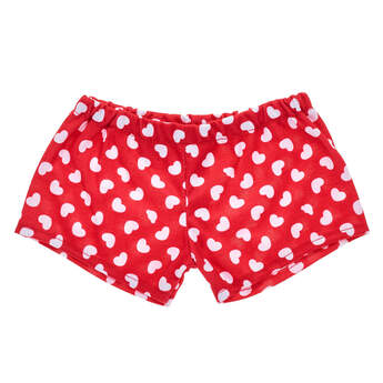 Red & White Heart Boxers - Build-A-Bear Workshop®