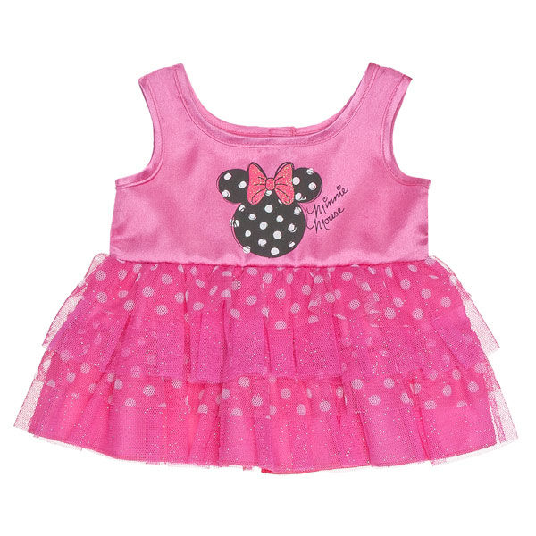 Minnie Mouse Pink Polka Dot Dress, , hi-res