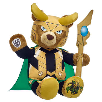 Online Exclusive Loki Inspired Bear - Build-A-Bear Workshop®