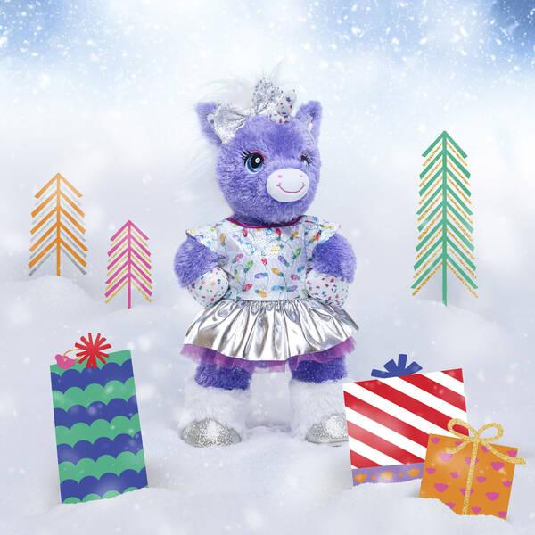 Purple Stardust Unicorn Gift Set, , hi-res