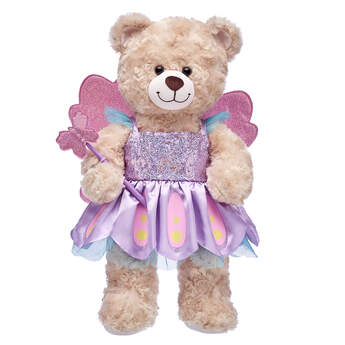Butterfly Fairy Dress and Wand - Build-A-Bear Workshop®