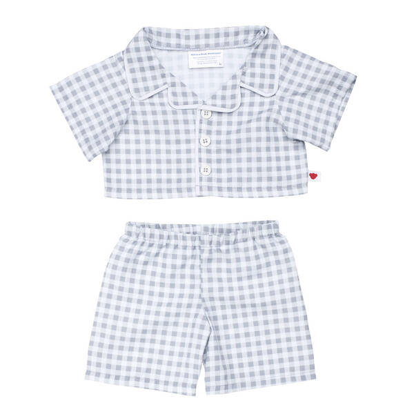 Online Exclusive Grey PJ Set - Build-A-Bear Workshop®