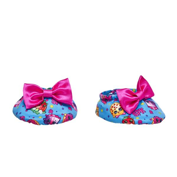 Shopkins™ Fuchsia Bow Slippers, , hi-res