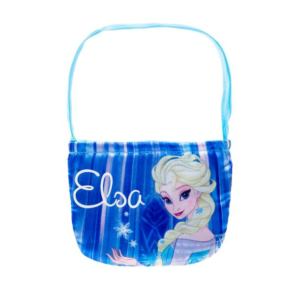 Disney Frozen fashions spread to handbags with this cool blue Elsa Inspired Purse. Your furry friend will look stylish carrying this handbag featuring Elsa's image and name.© Disney