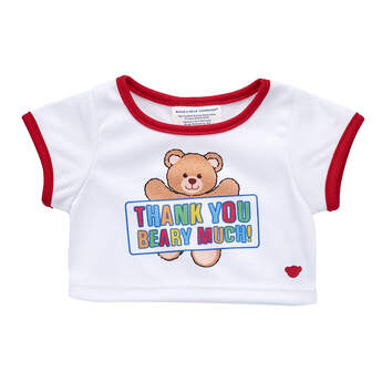 Thank You Presents Find Unique Thank You Gift Ideas At Build A Bear