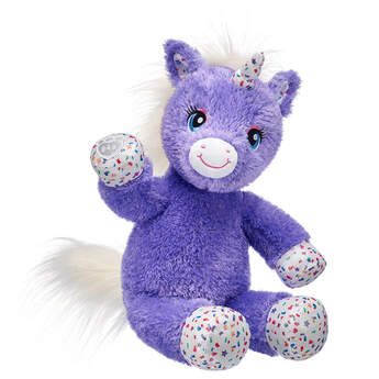 Purple Stardust Unicorn - Build-A-Bear Workshop®