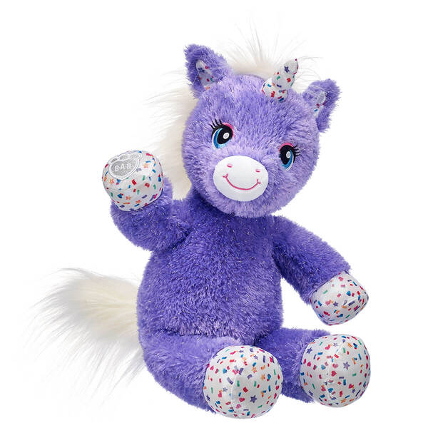 Purple Stardust Unicorn - Build-A-Bear Workshop®