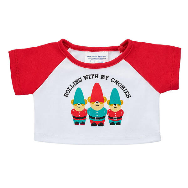 Online Exclusive Rolling with My Gnomies T-Shirt - Build-A-Bear Workshop®