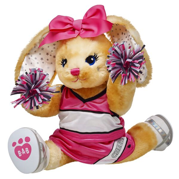 Pink Cheerleader More Moves Bunny Set, , hi-res