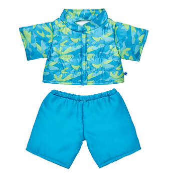 Blue and Green Camo Snowsuit - Build-A-Bear Workshop®