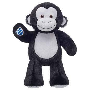 Go on wild adventures with this adorable plush Gorilla! Find stuffed animals, clothing & accessories for any occasion at Build-A-Bear.