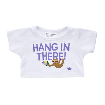 Online Exclusive Hang In There T-Shirt - Build-A-Bear Workshop®