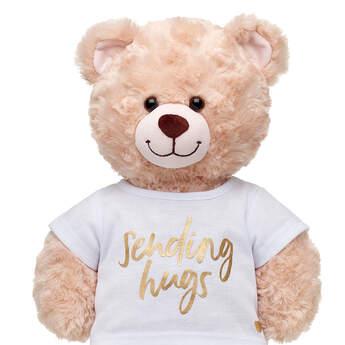 Online Exclusive Gold Sending Hugs T-Shirt - Build-A-Bear Workshop®