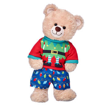 Happy Hugs Teddy Christmas Elf Gift Set, , hi-res