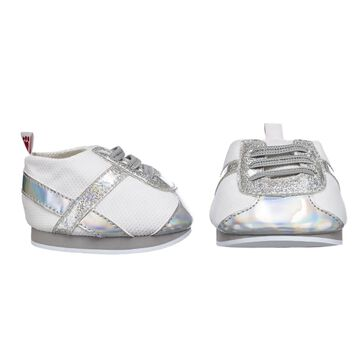 Silver Stripes Athletic Shoes, , hi-res