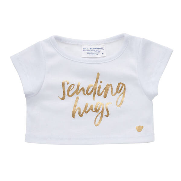 Online Exclusive Gold Sending Hugs T-Shirt - Build-A-Bear Workshop®