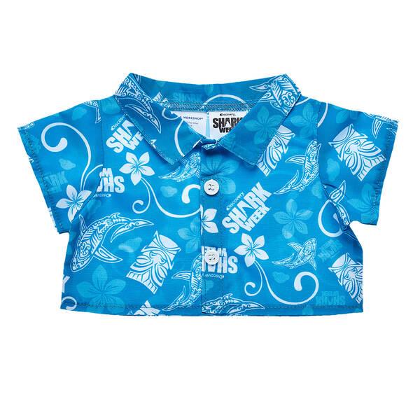 14e6afcc Shark Week Hawaiian Shirt for Soft Toys | Shop Now at Build-A-Bear®