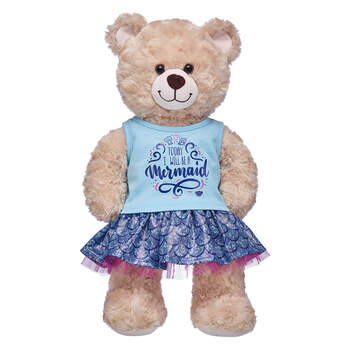 Mermaid Skirt Set 2 pc. - Build-A-Bear Workshop®