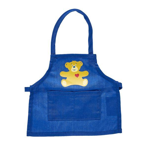 Blue Build-A-Bear Apron, , hi-res