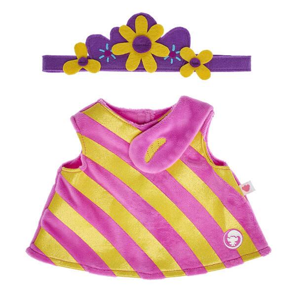 DreamWorks Trolls Poppy Dress & Headband - Build-A-Bear Workshop®