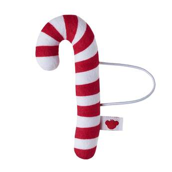 Your furry friend can deck the halls while wearing this adorable candy cane wrist accessory! Add a candy cane to any furry friend to make the perfect Christmas gift.