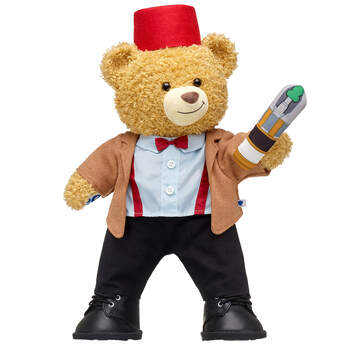 Online Exclusive Doctor Who Bear Eleventh Doctor Gift Set, , hi-res