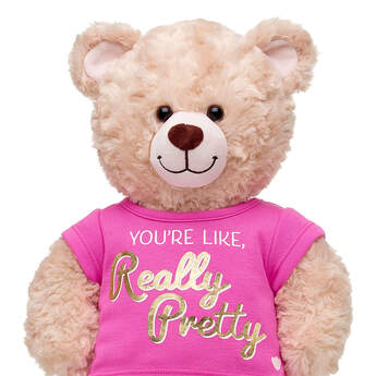"Online Exclusive ""You're Like, Really Pretty"" T-Shirt - Build-A-Bear Workshop®"