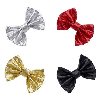 Online Exclusive Multicolour Hair Bows 4 pc. - Build-A-Bear Workshop®