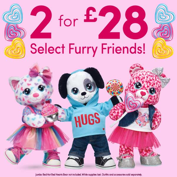 Shop explore and play at build a bear 2 for 35 sale negle Gallery