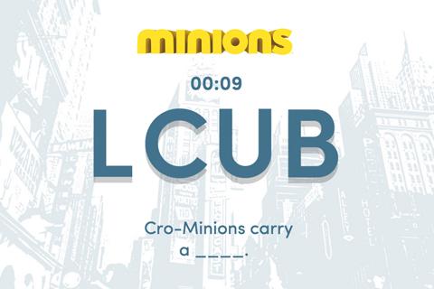 Minions Letter Rearrange