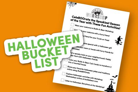 Bucket List - Activity Sheet Thumbnail