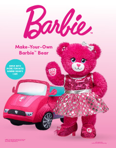 Barbie™ - Build-A-Bear® (click this image to shop Barbie™ Collections)