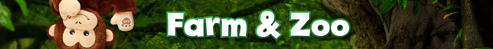 Zoo and Farm Animals Category Banner