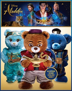 Disney's Aladdin™ - Build-A-Bear® (click this image to shop our Disney's Aladdin™ Collections)