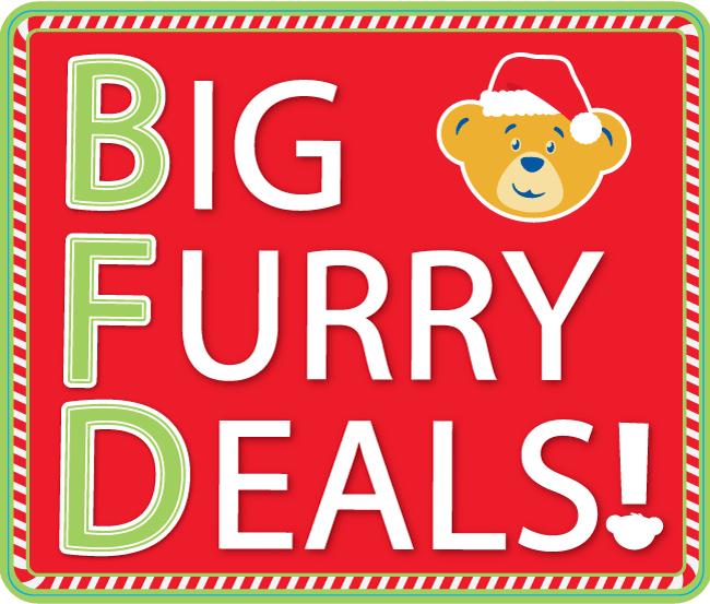 Build-A-Bear Workshop Big Furry Deals