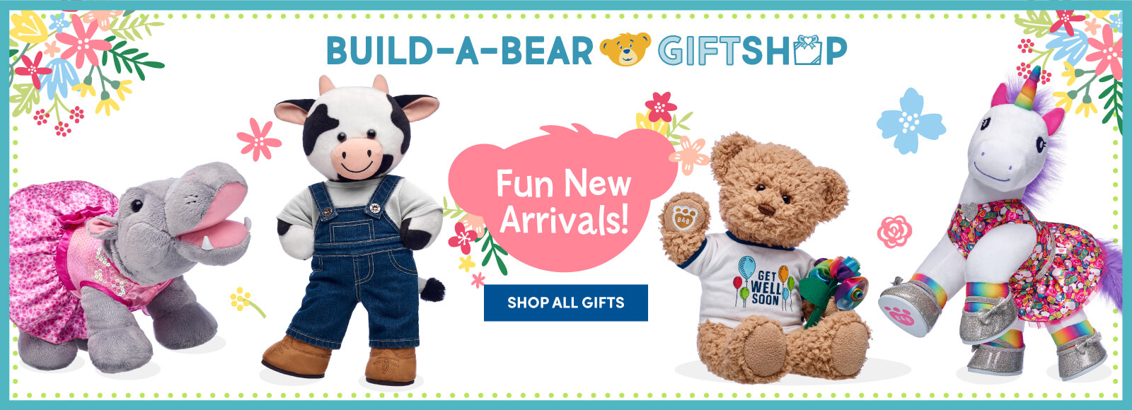Shop Build-A-Bear Workshop for any occasions gifts