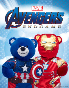 Avengers End Game™ - Build-A-Bear® (click this image to Shop Our Avengers End Game™ Collection)