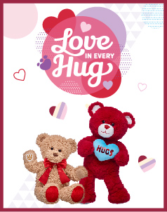 Valentines Day Collections - Build-A-Bear® (click to shop Valentines Day Collections)