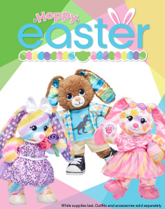 Easter - Build-A-Bear® (click this image to shop The Easter Collections)