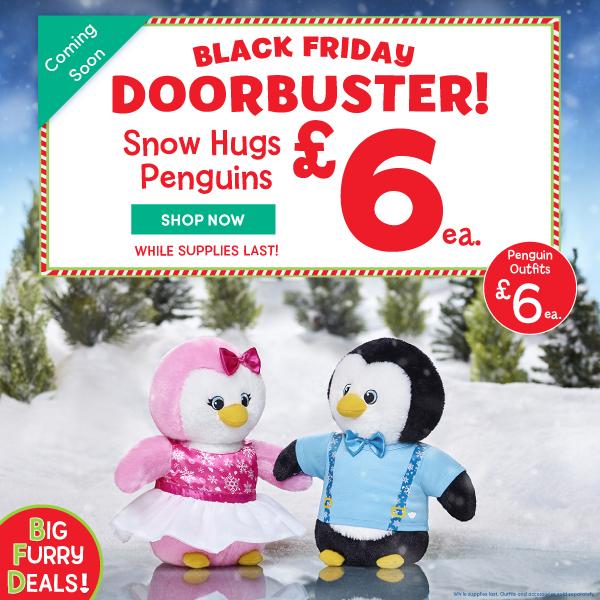 Build-A-Bear Workshop - Black Friday Door Buster