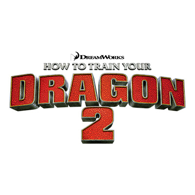 Dream Works How To Train Your Dragon 2 Logo
