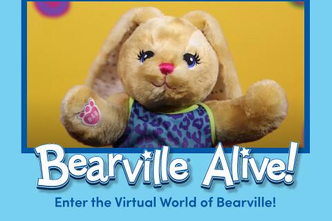 Bearville Alive: Enter the virutal world - Stuffed bunny bear
